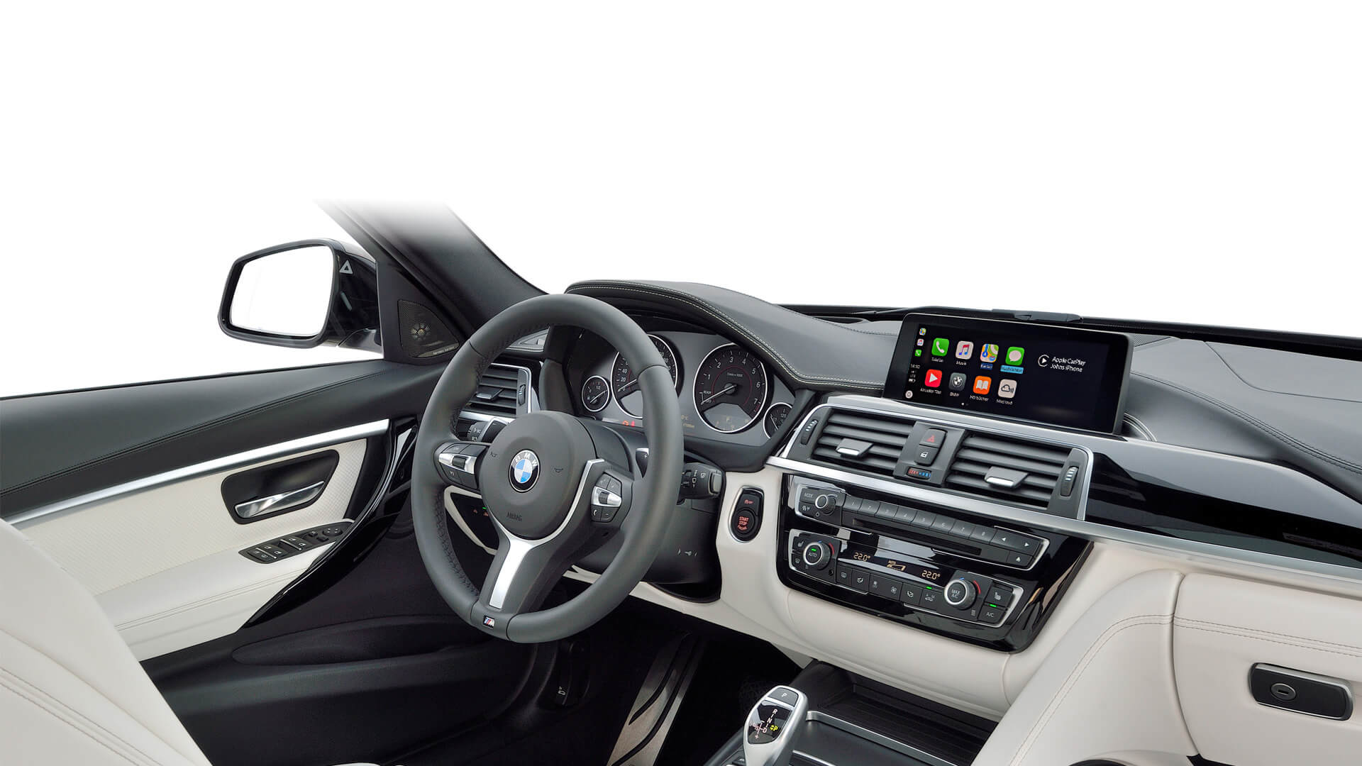 Bmw F30 F31 3 Series With Retrofit Apple Carplay Integrated Automotive Uk