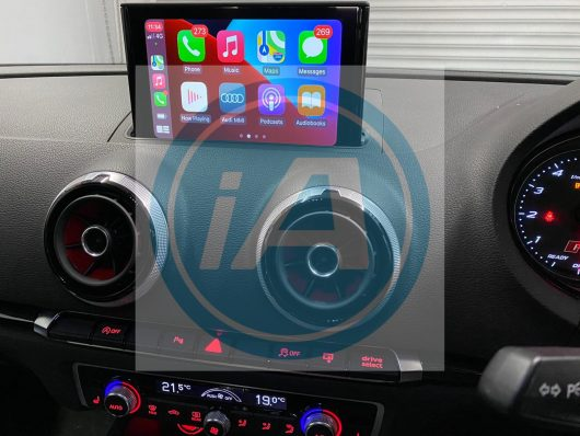 Audi A3 8V 7.0in Apple CarPlay Retrofit kit