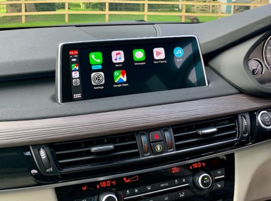 BMW F15 X5 Retrofit CarPlay and Android Auto kit