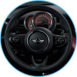 Use Mini Cooper steering wheel controls with the retrofit CarPlay and android auto kit