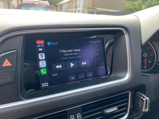 Audi 3G and 3G+ Retrofit CarPlay and Android Auto kit