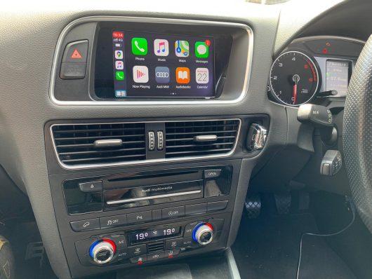 Audi Q5 2015 3G+ retrofit CarPlay