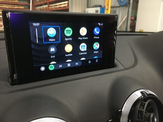 IMI-1000 Retrofit Android Auto installed into a 2015 Audi A3 8V