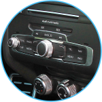 Android auto and Apple CarPlay retrofit audi MMI controls integration