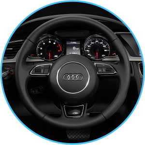 Audi A1/Q3/A4/A5 Concert and Symphony Apple retrofit CarPlay and Android auto steering wheel integration