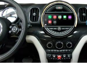 BMW Mini retrofit CarPlay and Android Auto kit