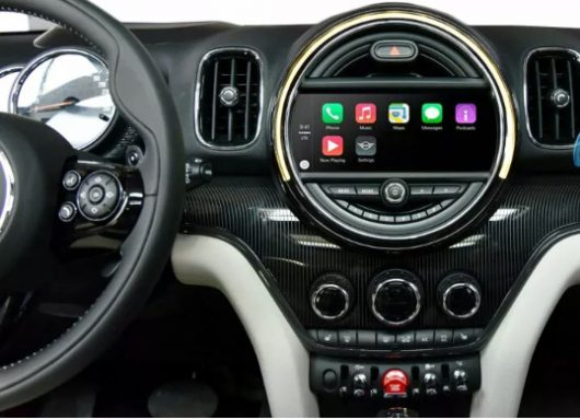 BMW Mini retrofit CarPlay and Android Auto kit