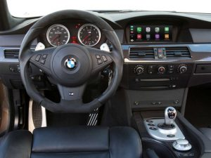 BMW 5 Series E60 E61 with Carplay Upgrade