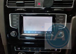 Vw golf carplay and android auto retrofit kit MIB1