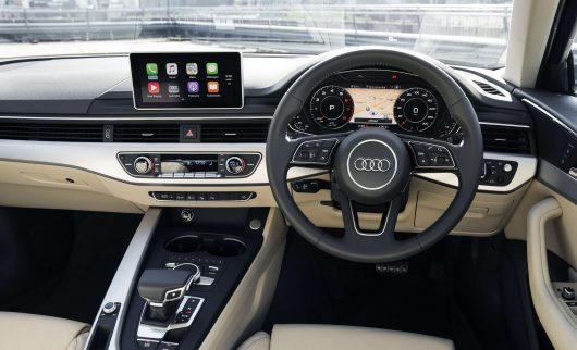 Retrofit Carplay installed in a 2017 Audi A4
