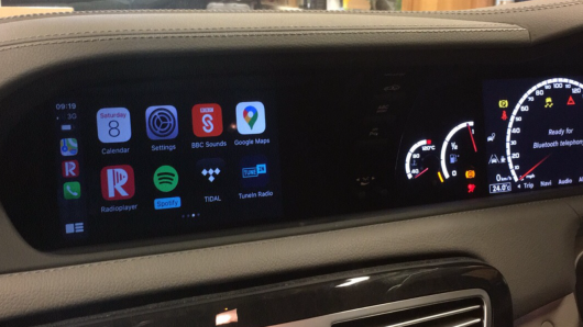 NTG4.5 and NTG4.7 retrofit CarPlay and Android auto kit
