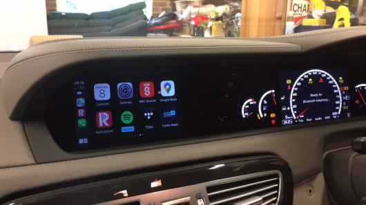 NTG4.5 and NTG4.7 retrofit CarPlay and Android Auto