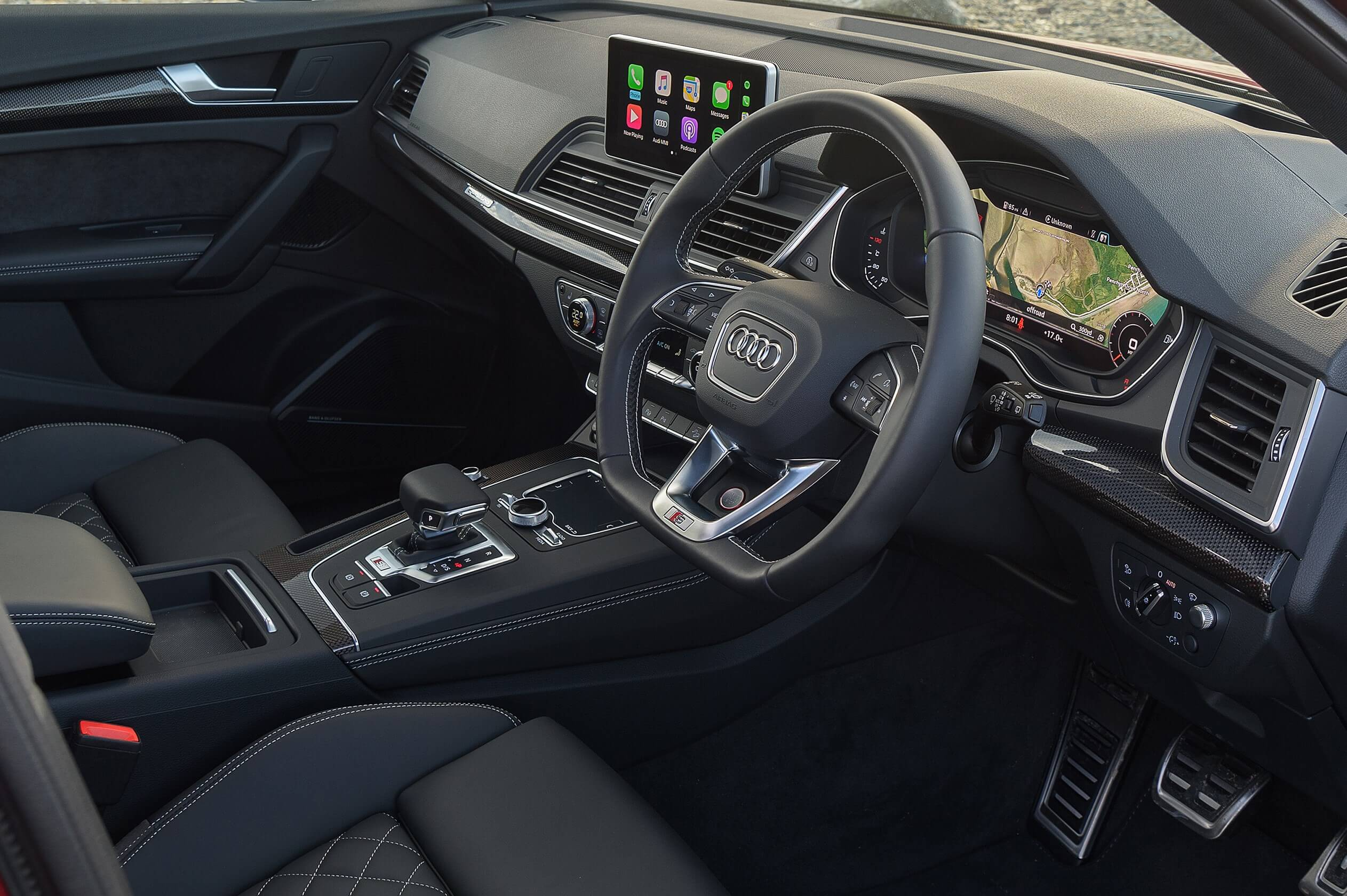 AUDI Q7 2015-2018 (Typ 80A/B9) Retrofit CarPlay and Android Auto Kit