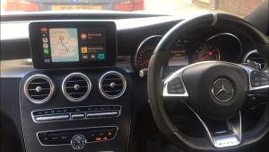 Mercedes C Class W205 retrofit CarPlay and Android Auto