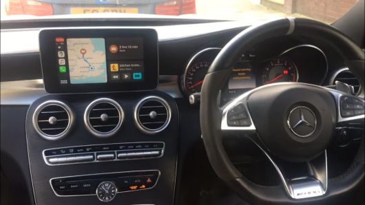 Mercedes C Class W205 retrofit CarPlay and Android Auto