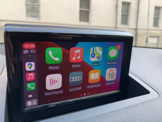 Audi A1 and Q3 retrofit CarPlay and Android Auto kit