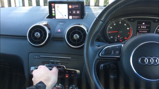Retrofit CarPlay for Audi A1 and RMC and 3G systems