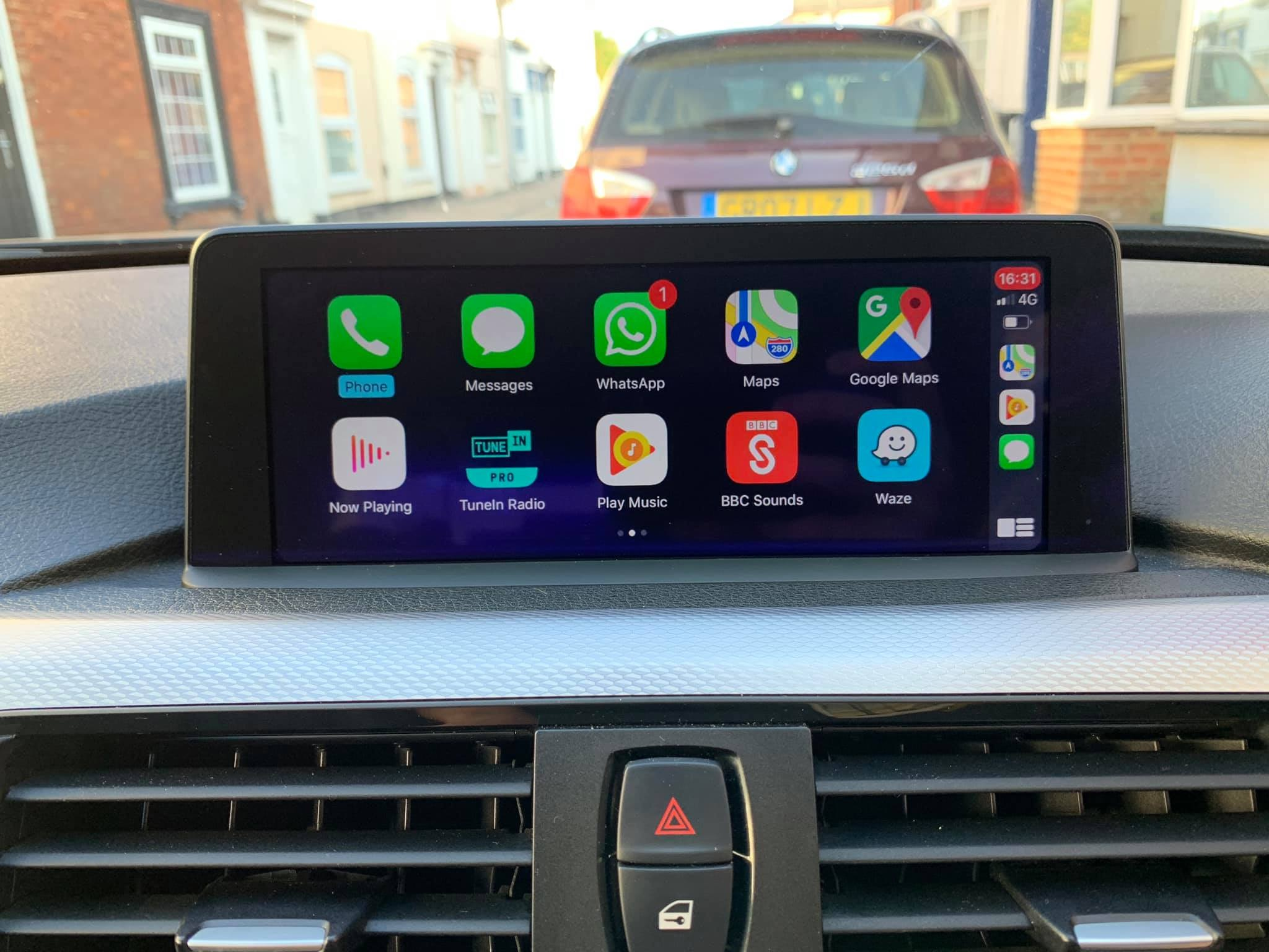 2012 2015 Bmw 3 Series All Body Shapes F30 F31 F34 And F80 Carplay And Android Auto Retrofit Kit Integrated Automotive Uk