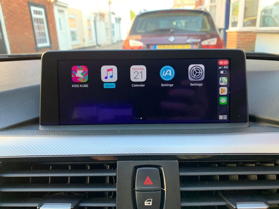 BMW NBT EVO iD4/iD5/iD6 retrofit CarPlay and Android Auto interface