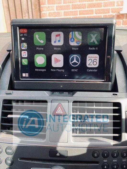 NTG4.0 W204 C Class retrofit CarPlay and Android Auto
