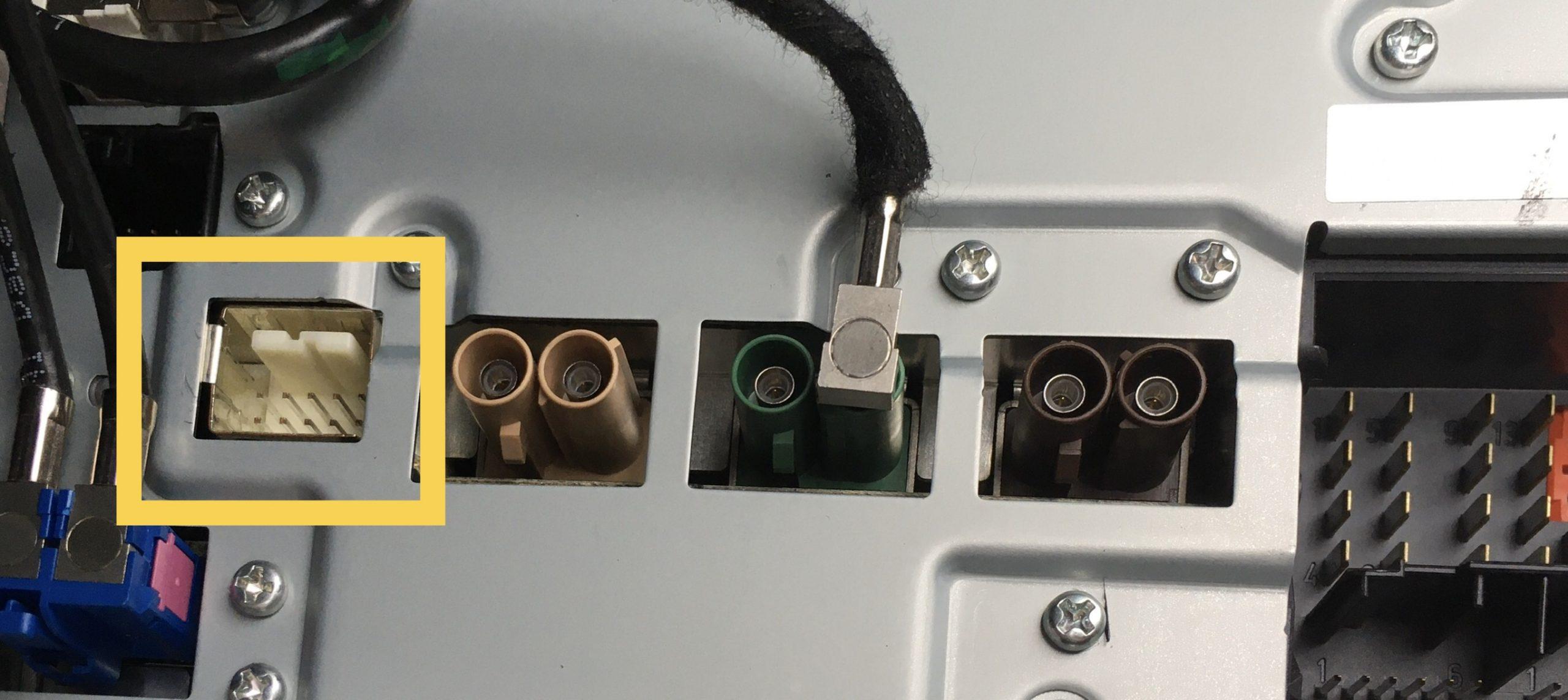NTG4.0 display connector