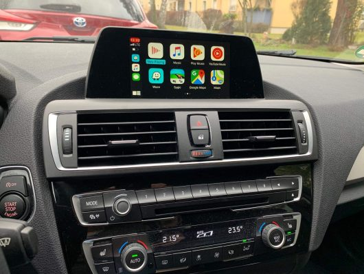 BMW F20 F30 Retrofit CarPlay ENTRYNAV