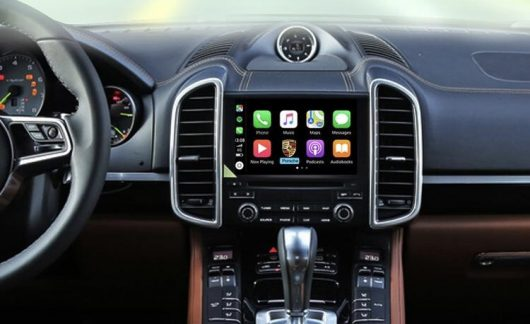 Porsche PCM3.1 retrofit CarPlay and Android Auto kit