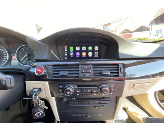 BMW E90 3 series Retrofit CarPlay and Android Auto kit