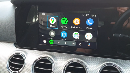 Retrofit CarPlay and Android Auto kit for Mercedes E Class W213