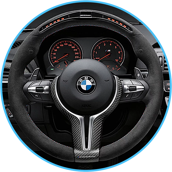 BMW Retrofit CarPlay with steering wheel integration