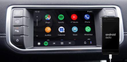 jaguar range rover land rover android auto retrofit