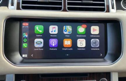 jaguar range rover land rover retrofit carplay and android auto